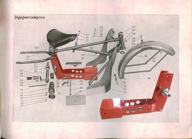 ingegneria d epoca moto guzzi telaistic motorbike elastic guzzi gt16 gt17 gt2vt realization of a frame part the piece realized by the support for the engine is in the